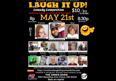 Laugh It Up! Comedy Competition