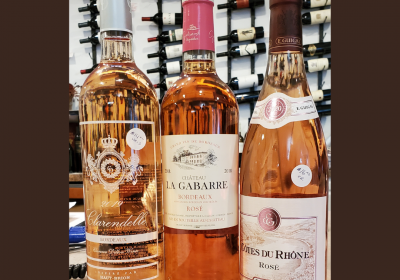 Featured Wines at Water Tower Fine Wines:  Great for the End of Summer--Rosé