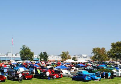 Ford Funfest for JDRF Car and Bike Show