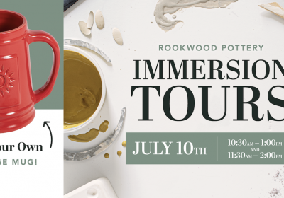 Cheers to 140-Years   Rookwood Pottery Hands-On Tour + Beer Tasting