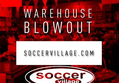 Soccer Village's 36th Annual Warehouse  Blowout Sale