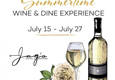 Summertime Wine & Dine Experience
