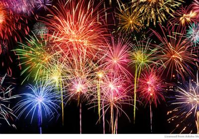 July 3rd Craft Fair and Fireworks at Village Green