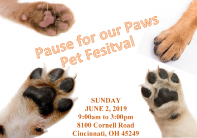 Pet Festival - Pause for our Paws