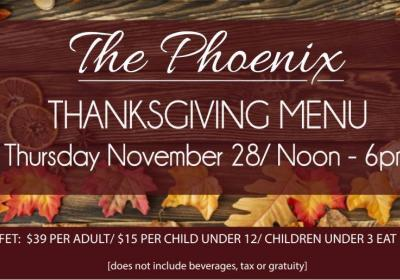 Thanksgiving Day Buffet at The Phoenix