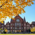 Music Hall in the fall (photo: Abby Erwin)