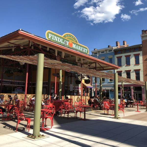Findlay Market Biergarten (photo: Cincinnati USA.com)