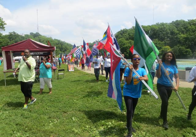 Parade at Juneteenth Festival (photo: Juneteenth Festival)
