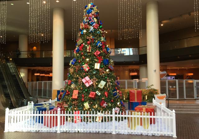 Christmas tree at The Westin