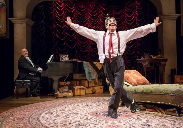 An Evening with Groucho, Cincinnati Playhouse in the Park (photo: Mikki Schaffner)