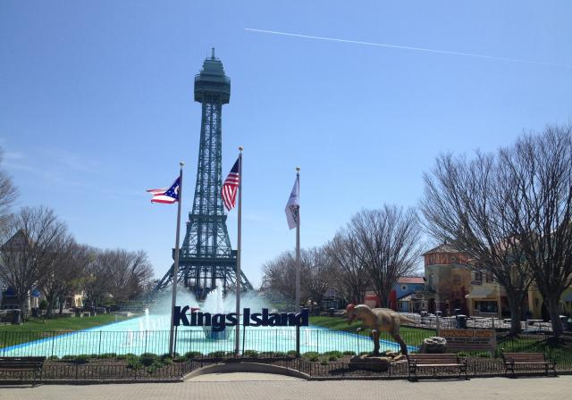 Eiffel Tower at Kings Island (photo: CincinnatiUSA.com)