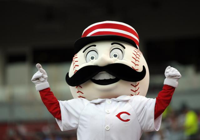 Mr. Redlegs Cincinnati Reds