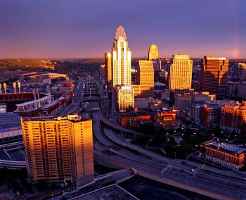 Downtown Cincinnati Skyline (photo: Glenn Hartong)