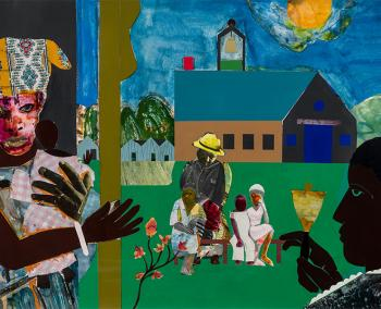 Romare Bearden (1911–1988), United States, Profile/Part I, The Twenties: Mecklenberg County, School Bell Time, 1978