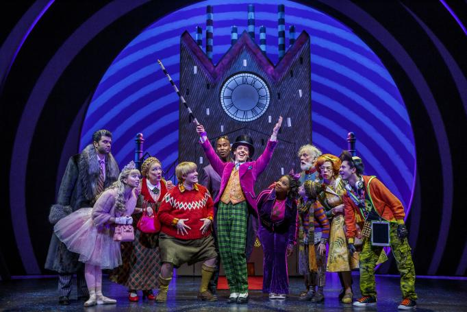 Charlie and the Chocolate Factory (photo: Joan Marcus)
