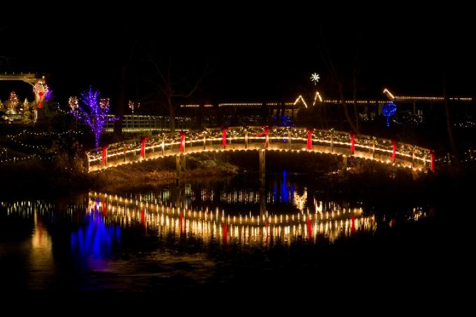 Christmas Town at Creation Museum
