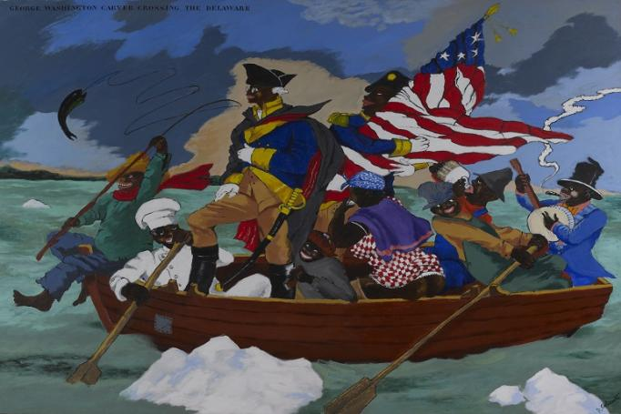 Robert Colescott Art and Race Matter (photo: CAC)