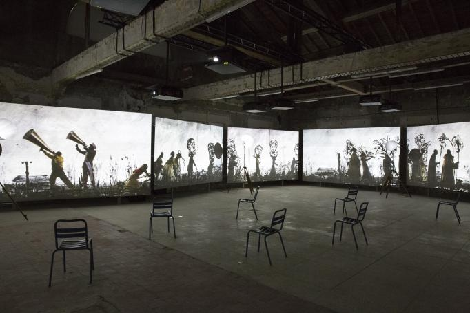 William Kentridge, More Sweetly Play the Dance