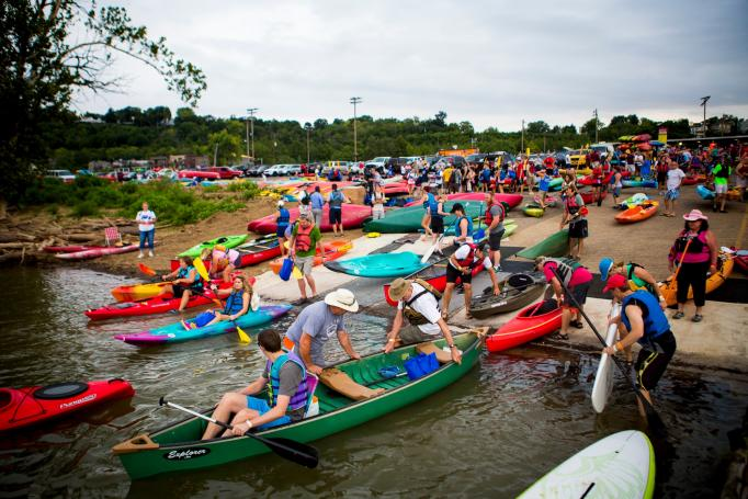 Paddlefest (photo: Meg Vogel)