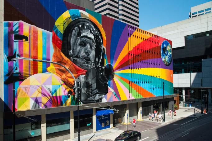 Armstrong mural