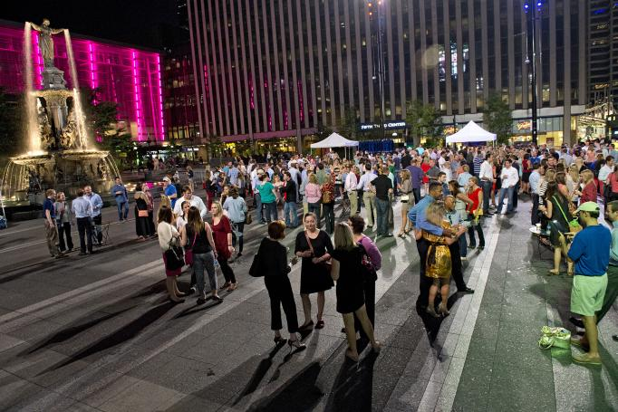 PNC Summer Music Series on Fountain Square
