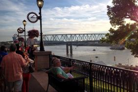 Newport on the Levee Riverwalk
